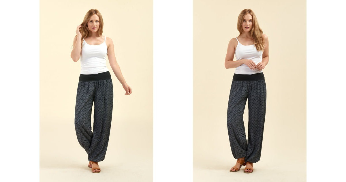 cb25e8ec8811 Slouchy Pants In Black