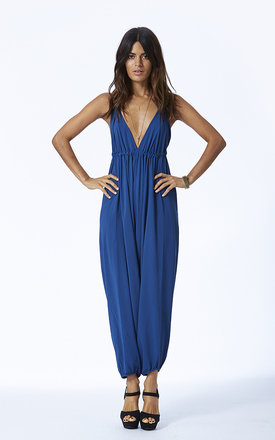 Genie jumpsuit in navy blue by Dancing Leopard Product photo
