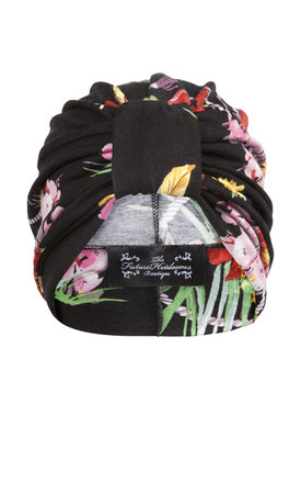 Hawaiian print jersey turban  by The Future Heirlooms Boutique Product photo