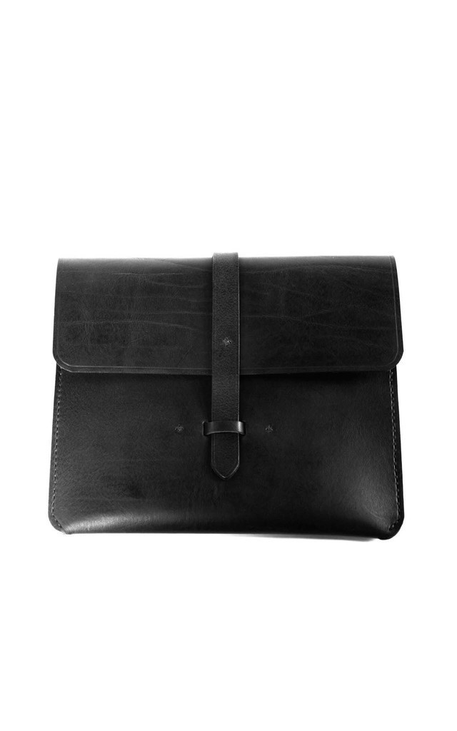 Ipad Leather Case by C.S