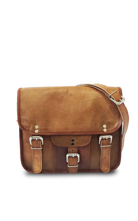 Sitara small leather satchel by Raagaz Product photo