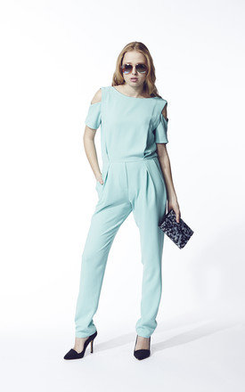 Blue jumpsuit by Liquorish Product photo