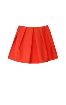 Danah tangerine skirt by Silence Beyond Syllables Product photo