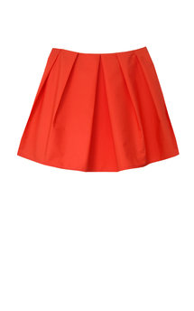 Danah tangerine skirt by Silence Beyond Syllables