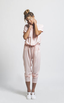 H jumpsuit pink by Never Fully Dressed Product photo