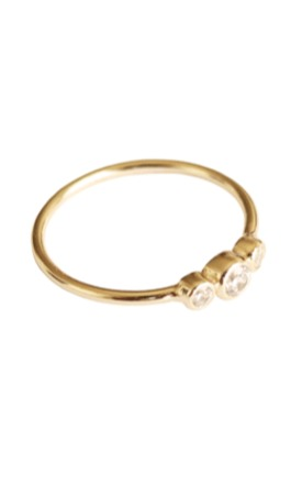 Marie gold - ring by P D PAOLA Product photo
