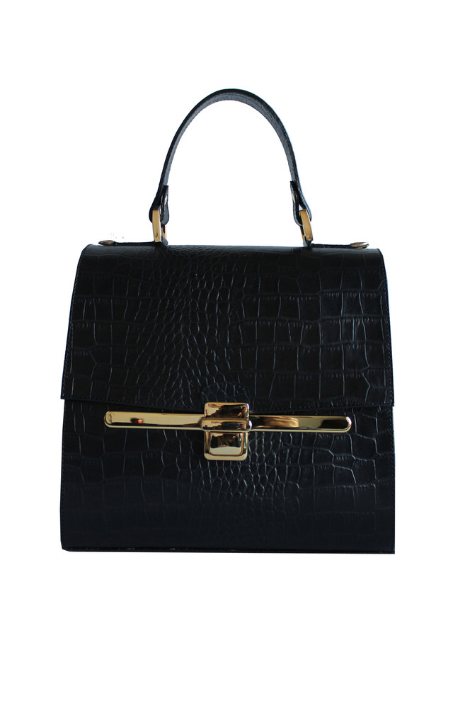 Black City Bowling by THE CODE HANDBAGS