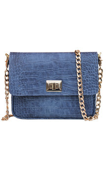 Blue retro handbags by THE CODE HANDBAGS Product photo