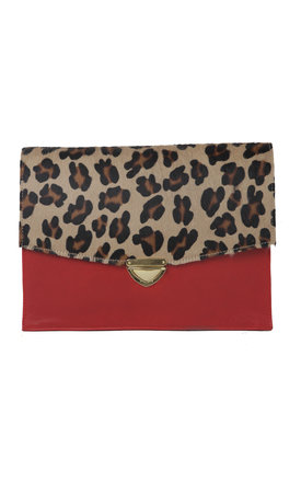 Leo clutch by THE CODE HANDBAGS Product photo