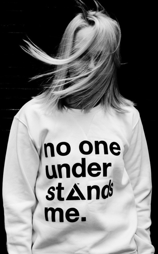 """No One Understands Me"" Sweatshirt by Adolescent Clothing"