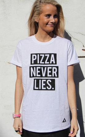 Pizza never lies t-shirt by Adolescent Clothing Product photo
