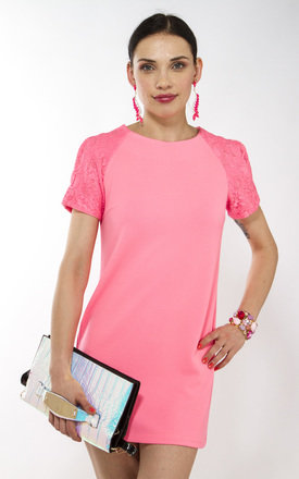 Pink shift dress by Liquorish Product photo