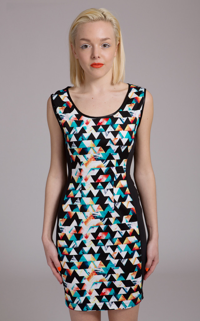 Geo Dress by NO FIXED ABODE