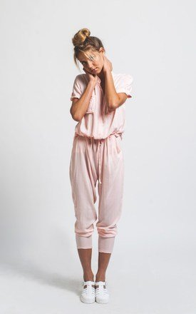 Pink h jumpsuit by Never Fully Dressed Product photo