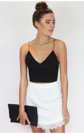 Jasmine spaghetti strap crop top by Dolly Rocka Product photo