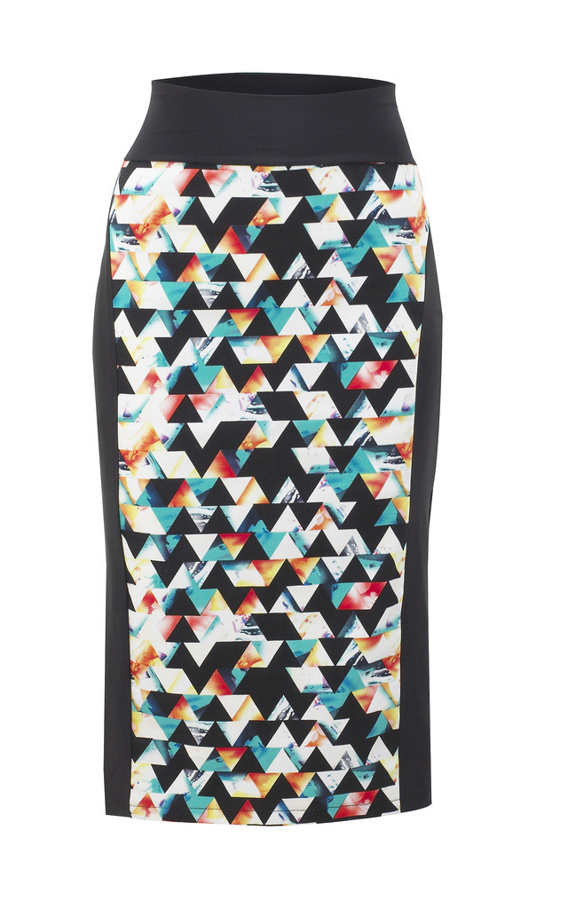 Pencil Skirt by NO FIXED ABODE