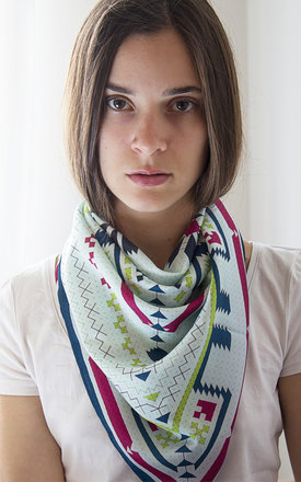 Bourgas scarf by Shevitza Product photo