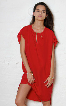 Red t tunic by Never Fully Dressed Product photo