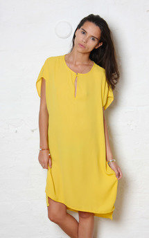 Mustard t tunic by Never Fully Dressed Product photo