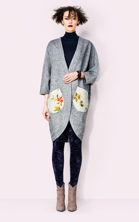 Oversize sweater with lining by KASIA MICIAK Product photo