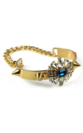 Spike & shine bracelet by Emi Jewellery Product photo