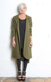 Khaki annie jacket by Never Fully Dressed Product photo