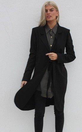 Black annie jacket by Never Fully Dressed Product photo