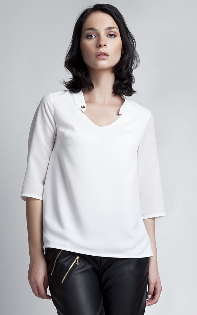 White shirt by Lanti