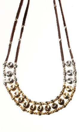 Multi spike necklace by MHART Product photo