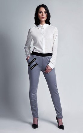 Gray trousers by Lanti Product photo