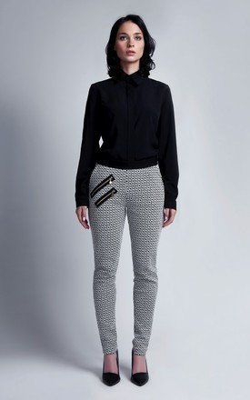Patterned trousers by Lanti Product photo