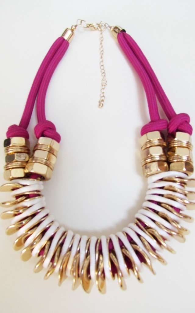 Binky Purple Necklace by Souksy
