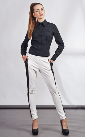 White trousers by Lanti Product photo