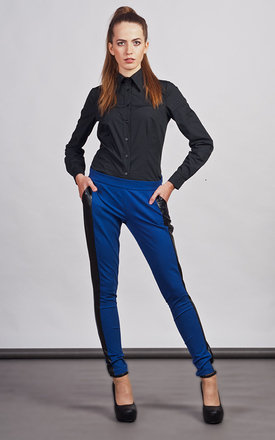 Blue trousers by Lanti Product photo
