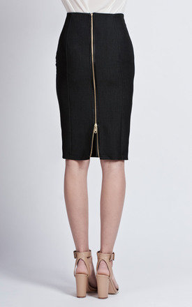 Pencil skirt with zip by Lanti