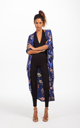Silky cape in oriental blue by Dancing Leopard Product photo