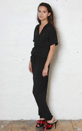 Black H Jumpsuit by Never Fully Dressed Product photo