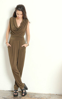 Khaki drape by Never Fully Dressed Product photo