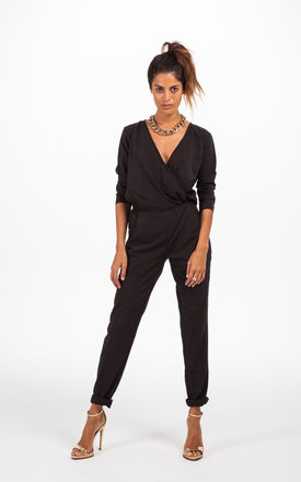 Stardust jumpsuit in black by Dancing Leopard Product photo