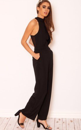 Alexandra wide leg jumpsuit by LullaBellz Product photo