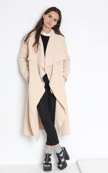 Flo coat beige by Never Fully Dressed Product photo