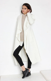 Flo coat white by Never Fully Dressed Product photo