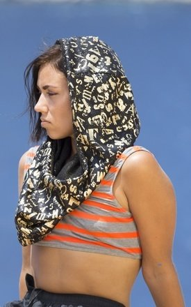 Barium golden character snood by Wild Buffalo & Robe Unfold Product photo