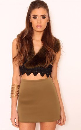 Sian crochet lace crop top by Dolly Rocka Product photo