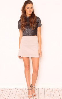 Kelly stretch jersey a-line skirt by Dolly Rocka Product photo