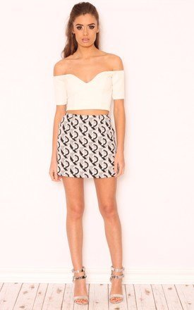 Marissa sweetheart neckline crop top by Dolly Rocka Product photo