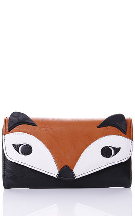 Black fox purse by Liquorish Product photo