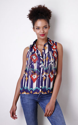 Cowgirl floral blouse by Liquorish Product photo