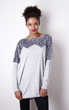 Embroidered sweater  by Liquorish Product photo