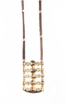 Spiked ladder necklace by MHART Product photo